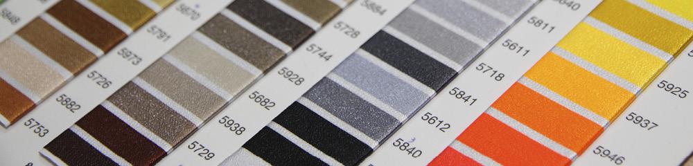 Tikkimisniitide värvinäidised