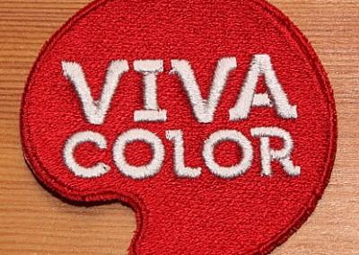 Tikitud embleem Vivacolor