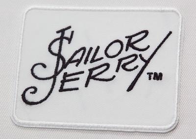 Tikitud embleem Sailor Jerry