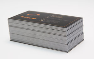 prinditud visiitkaardid 90x50mm